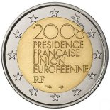 2 euro commemorative france 2008