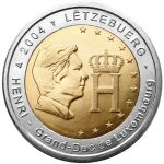 2 euro comm�morative Luxembourg 2004