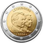 2 euro comm�morative Luxembourg 2006