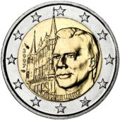 2 euro comm�morative Luxembourg 2007