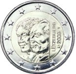 2 euro comm�morative Luxembourg 2009