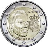 2 euro comm�morative Luxembourg 2010