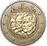 2 euro commemorative Luxembourg 2011
