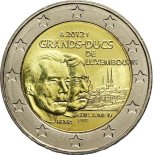 2 euro comm�morative Luxembourg 2012