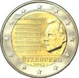 2 euro commemorative Luxembourg 2013