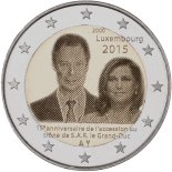 2 euro commémorative 2015 Luxembourg