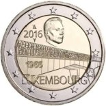 2 euro commémorative 2016 Luxembourg