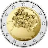 2 euro commemorative Malte 2013