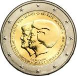 2 euro commemorative Pays-Bas 2013