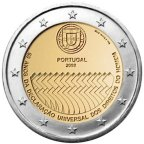 2 euro commémorative Portugal 2008