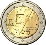 2 euro commémorative portugal 2012