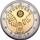 2 euro commémorative 2014 Portugal