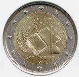 2 euro commémorative Saint-marin 2009