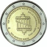 2 euro commémorative 2015 Saint-Marin