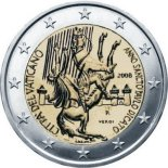 2 euro commemorative vatican 2008