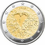 2 euro commemorative finlande 2008