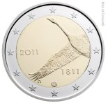 2 euro commemorative Finlande 2011
